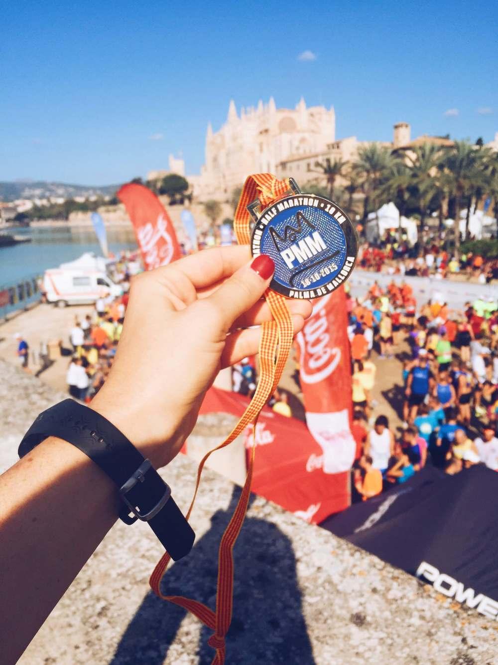 mallorca marathon medal
