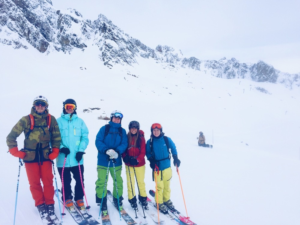 swedish ski bums chamonix