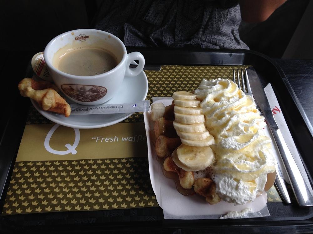 belgian waffles antwerp