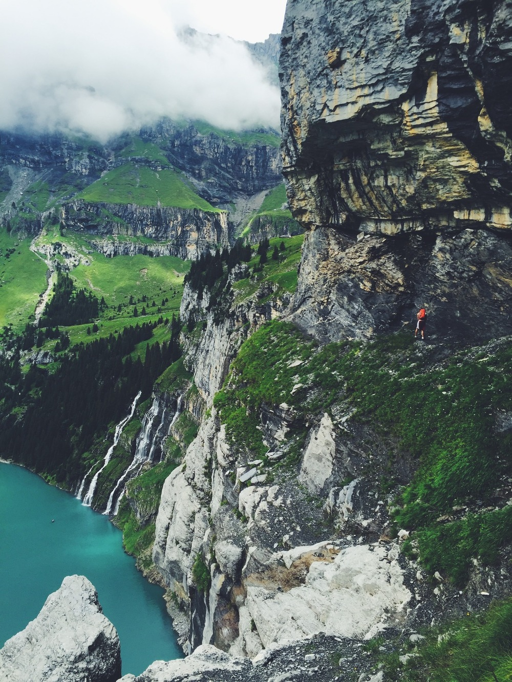 Hiking Lake Oeschinensee Where Is Per
