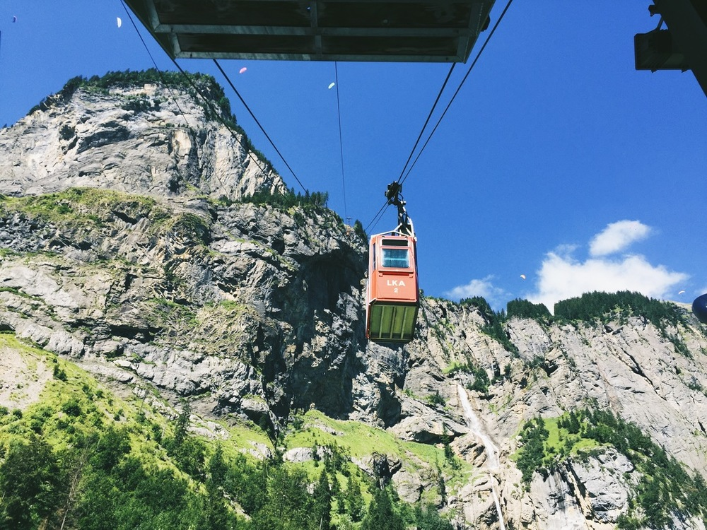 Kandersteg Cable Car Where is Per