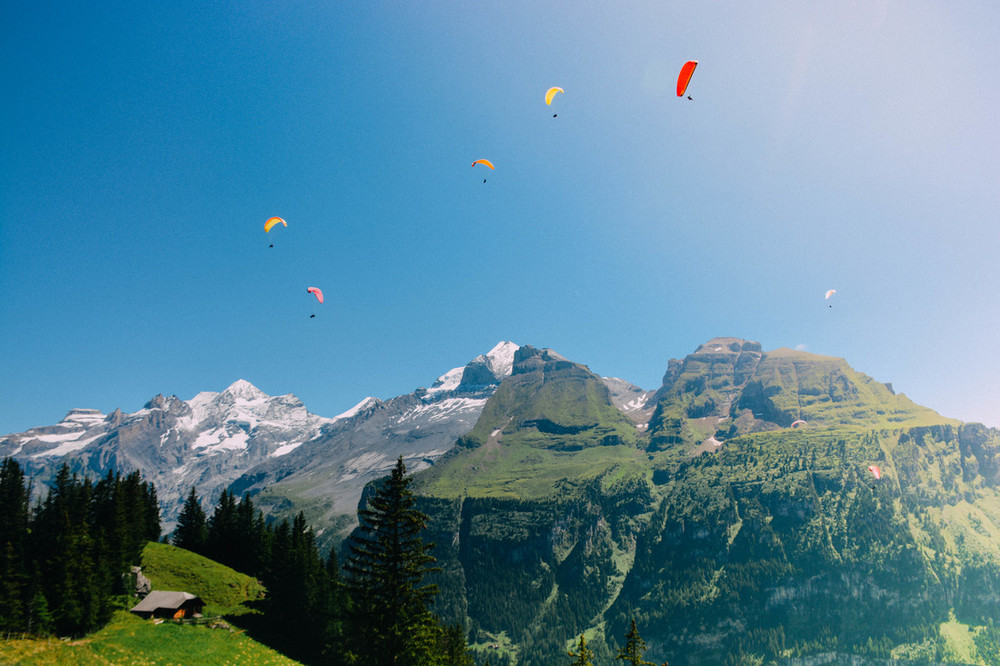 Kandersteg Paraglide