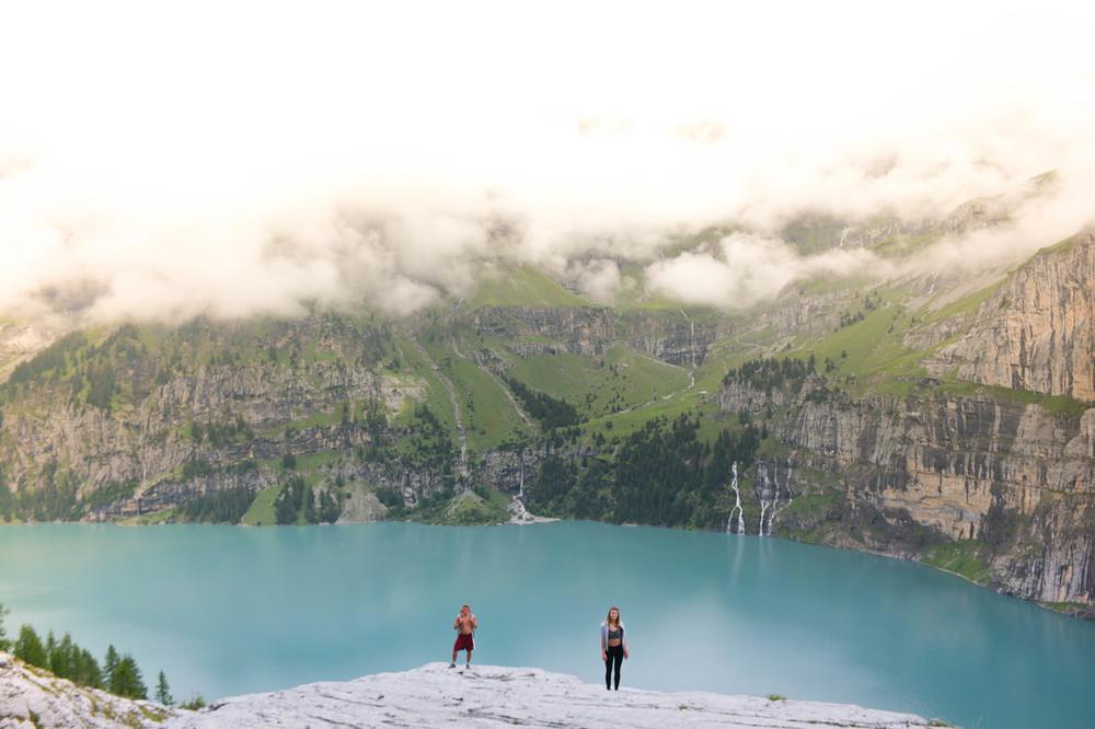Kandersteg Lake Oeschinensee