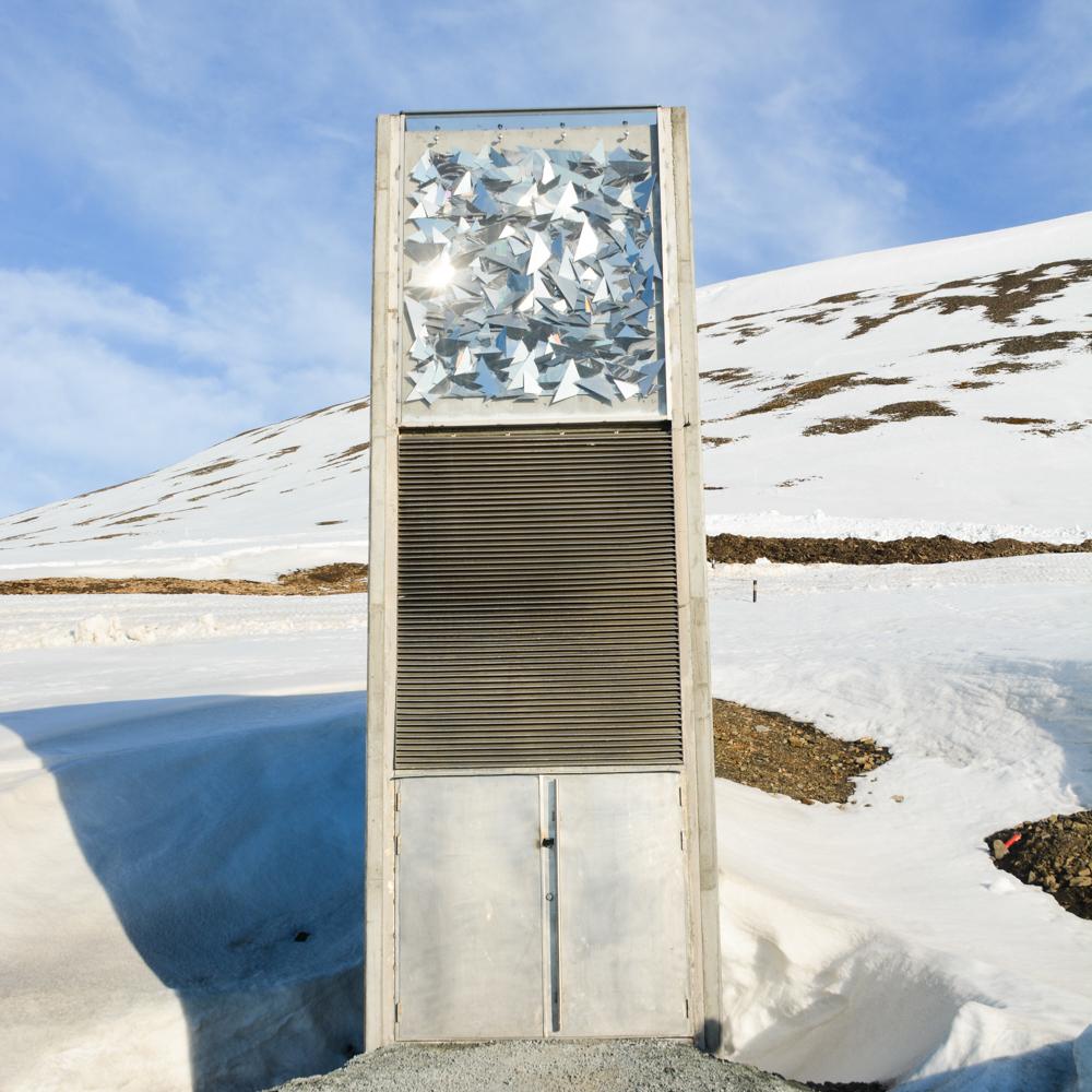 Svalbard Global Seed Vault Exterior
