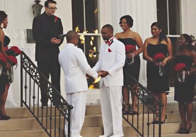 Robert Brown & Nathaneal Gay's Wedding