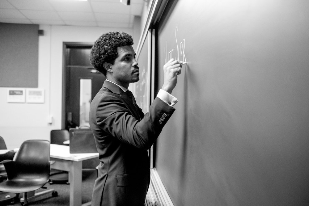The professor is in. - Charles H.F. Davis III is an assistant professor at the USC Rossier School of Education where he teaches courses on race and racism, systems and relationships of power, and organized resistance.