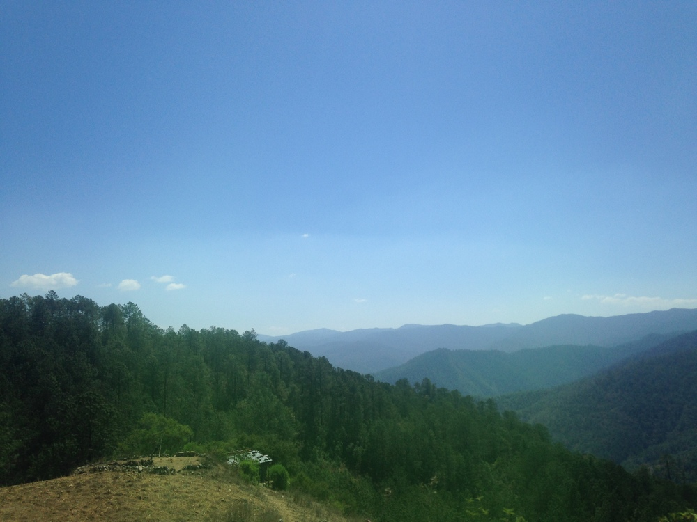 En route toSanta Ana Yareni