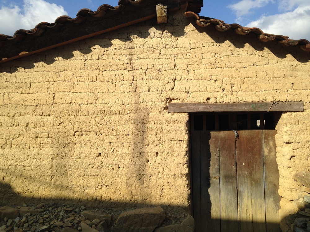 Traditional adobe home in  Santa Ana Yareni