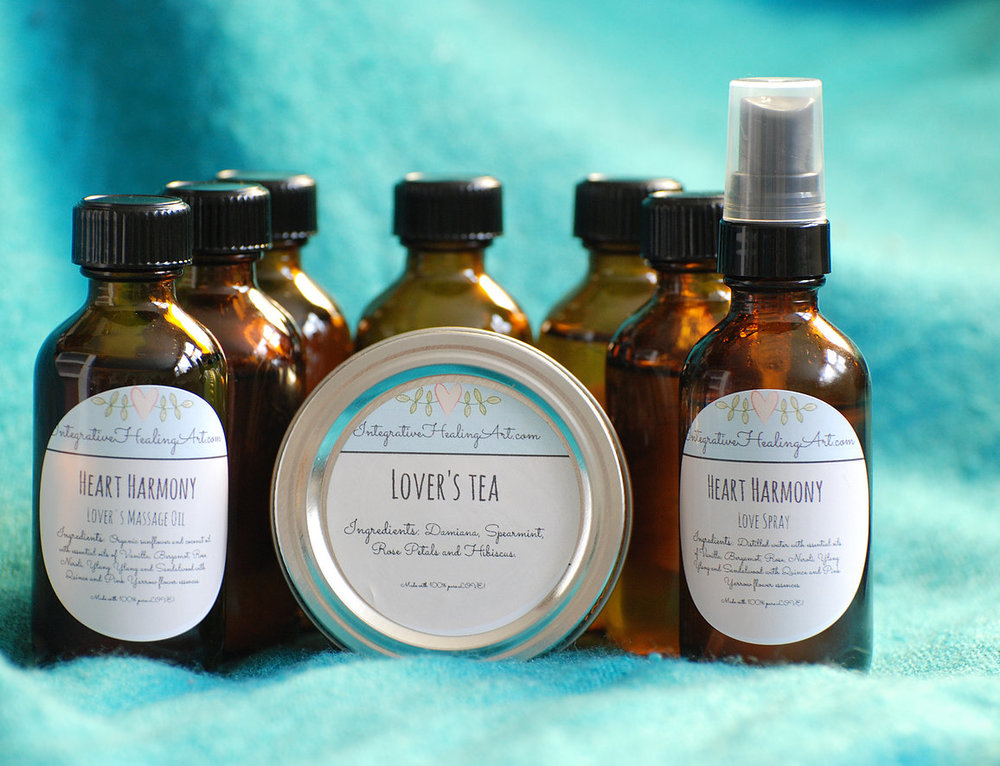 Lotions and potions, made with the best intentions: Kaitlin creates her own line of oils, scrubs, tinctures and flower essence body products. All are available on her Etsy site. Take a look here! (Photo by K. Clark)