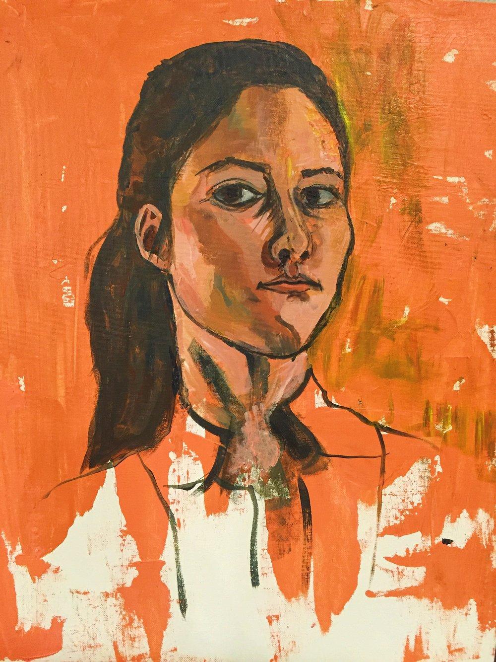 Self portrait  |  Jill Verzino