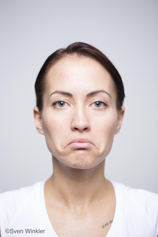 Anna Ingordino mit einem Facial Shrug :-)