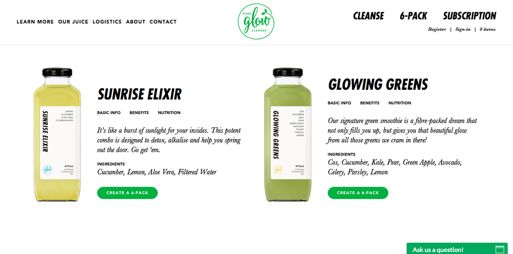 health-copywriting-for-pure-glow-cleanse