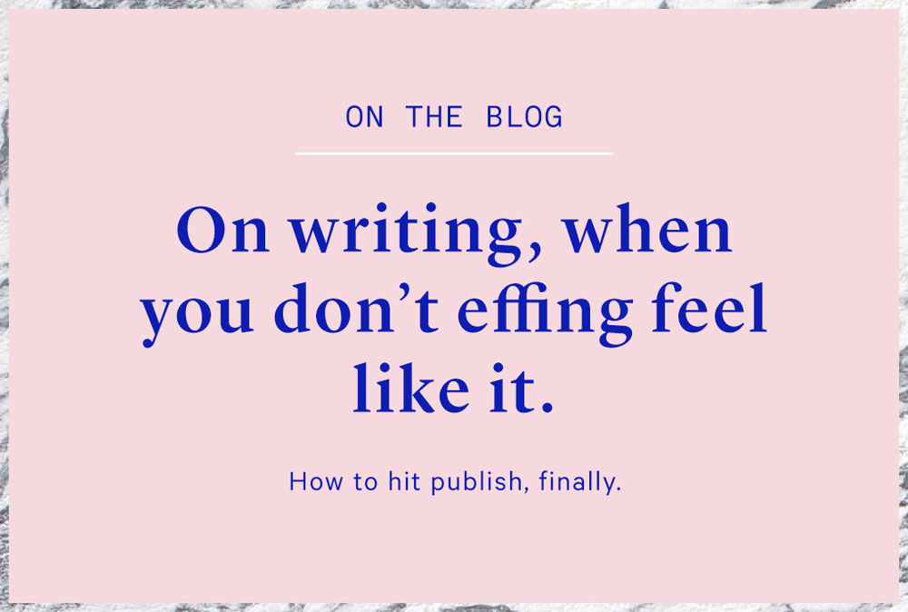 how to write a blog and improve your writing
