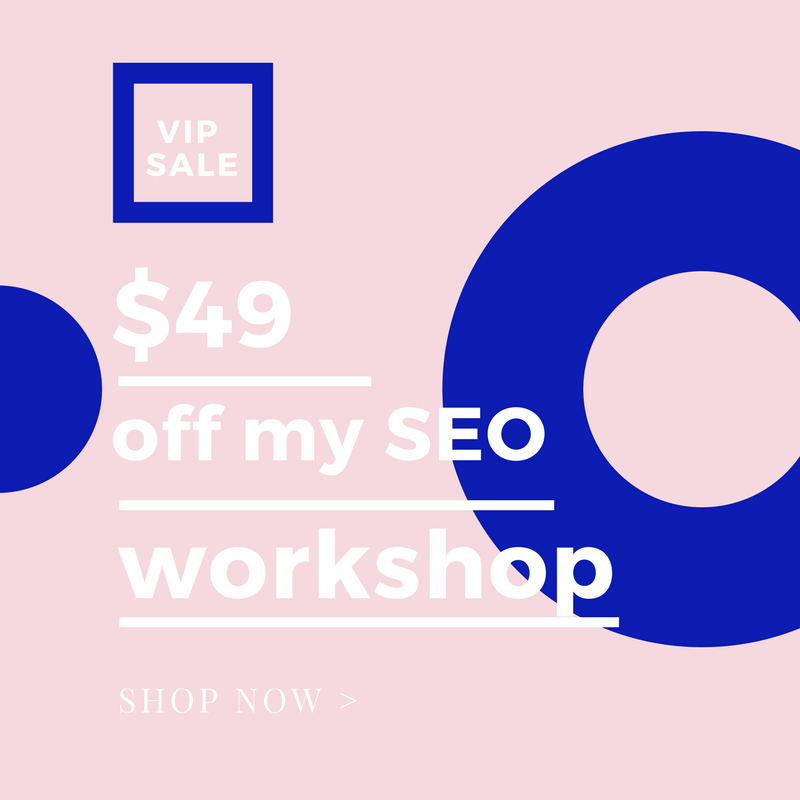 SEO WORKSHOP IN MELBOURNE - MAY 6, 2017