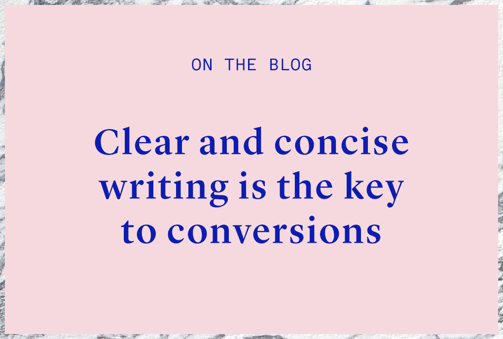 clear and concise writing tips
