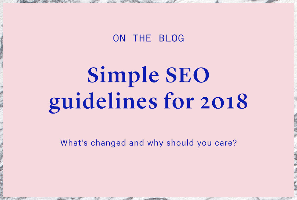 seo guidelines in 2017