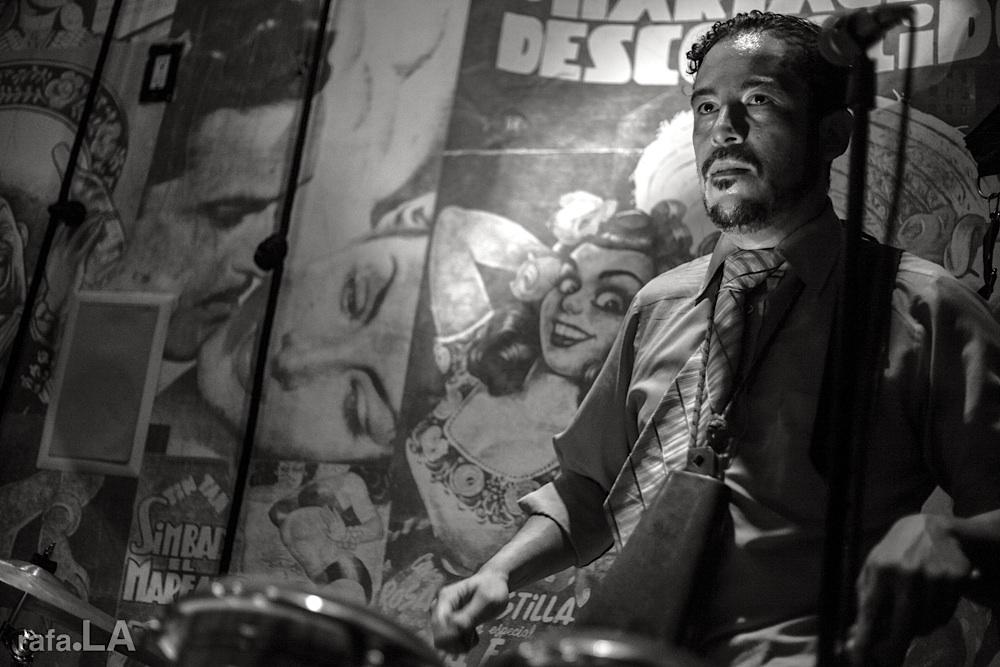 Drummatic.  November 06, 2013 - Eastside Luv, Boyle Heights