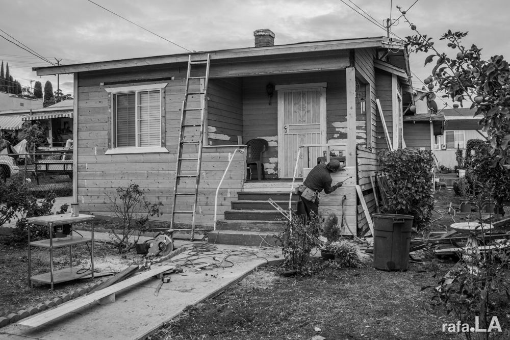 Gray Day Home Improvements.  November 22, 2013 - East Los Angeles