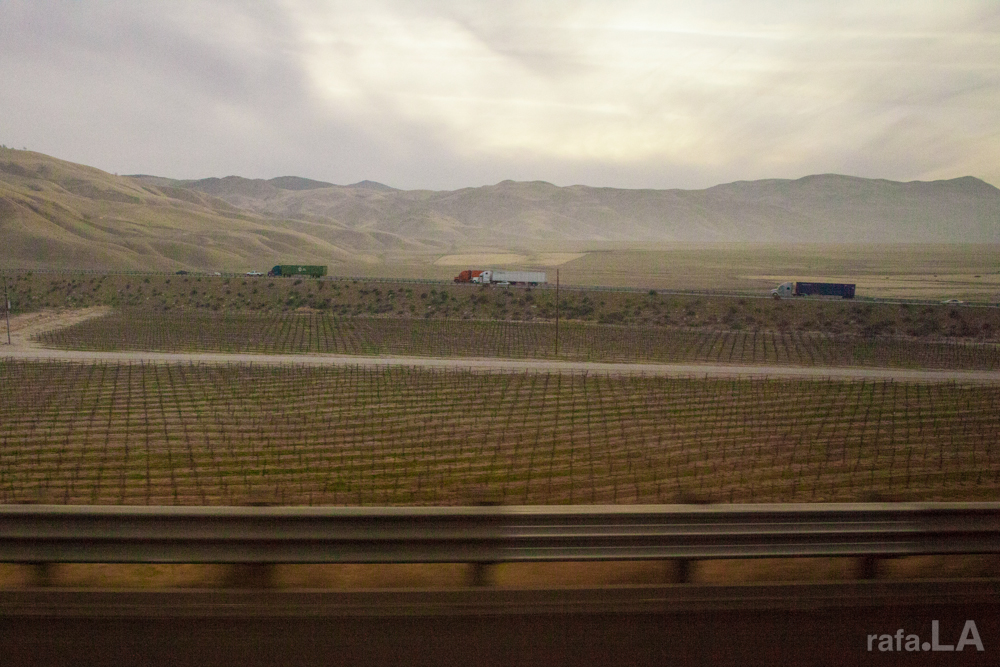 En Route Janurary 07, 2014 - Grapevine, Interstate 5, California