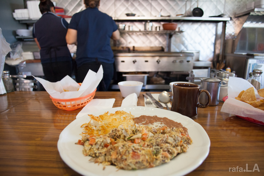 Machaca  January 20, 2014 - Lupe's Lunch Room, Boyle Heights