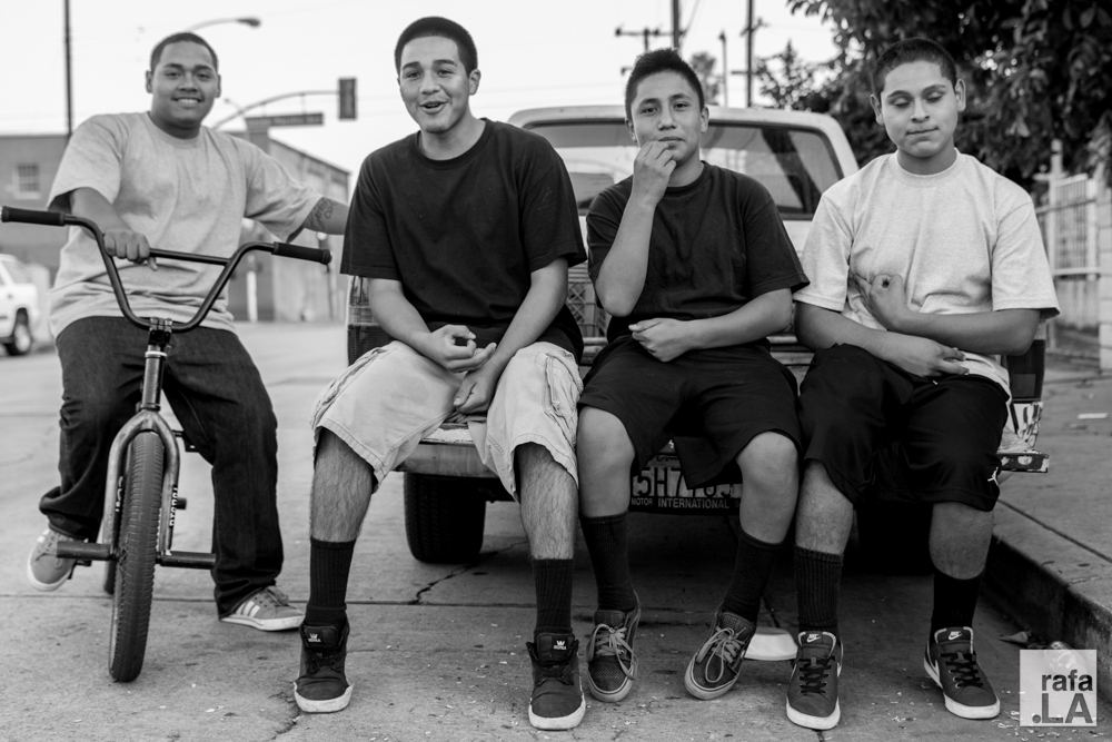 Curb Side  August 07, 2014 - East LA/Boyle Heights