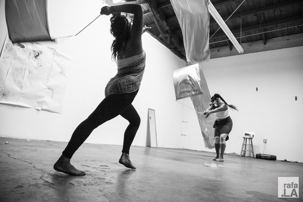 Rehearsals  September 21, 2014 - The Spot Gallery, Boyle Heights