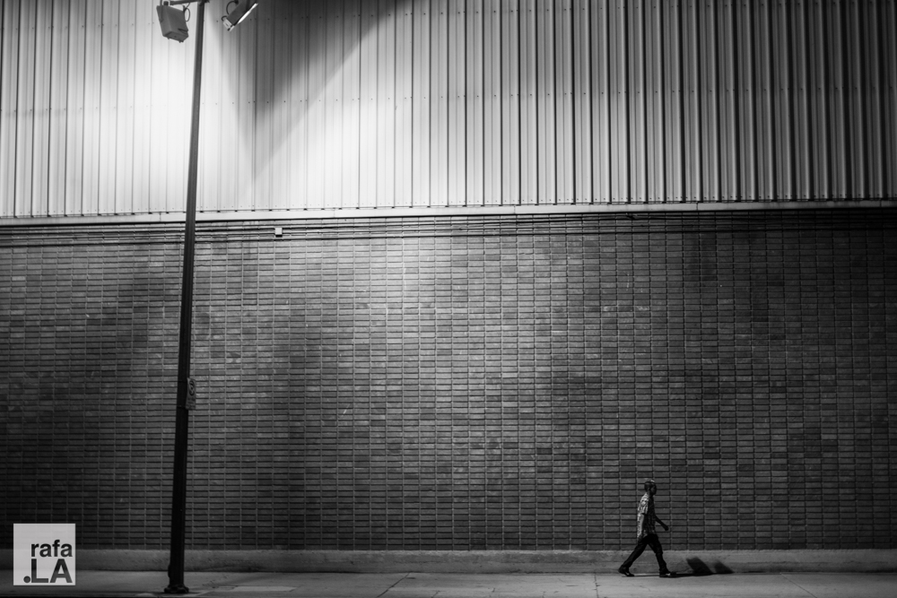 Man vs. Man-made  October 06, 2014 - Central Avenue and 5th Street, Downtown LA