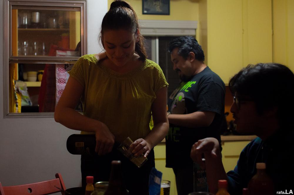 Sophia Pours Kris a Corona | Boyle Heights, CA