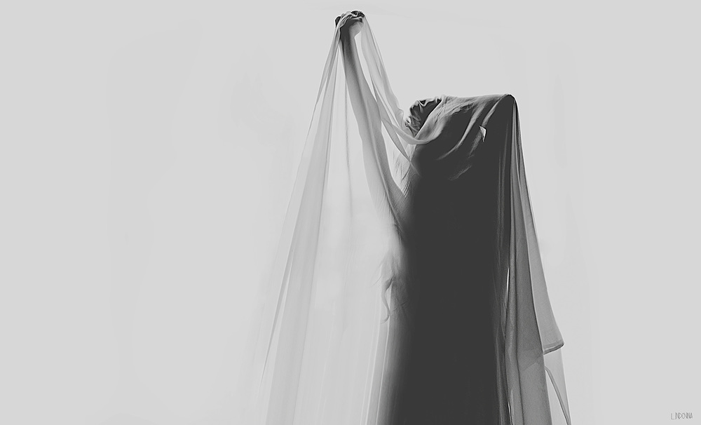 Girl under sheet Lauren Indovina 2011