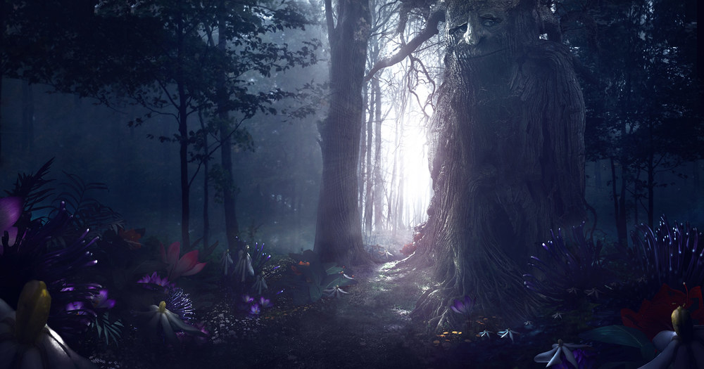 FED EX Enchanted Forest  Environment Style One