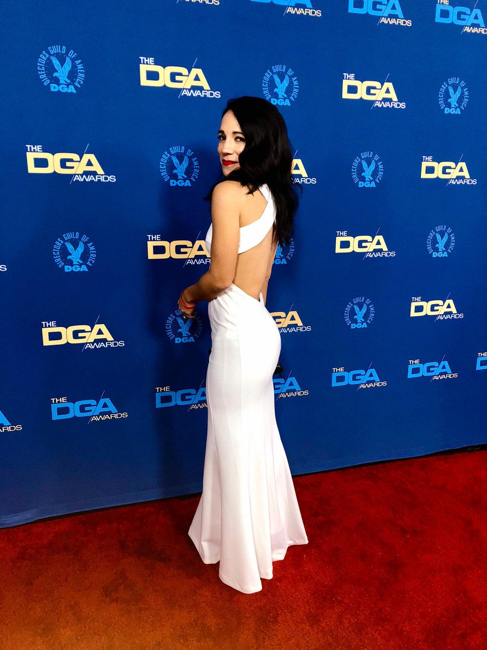 Lauren Indovina at the 71st Annual DGA Awards