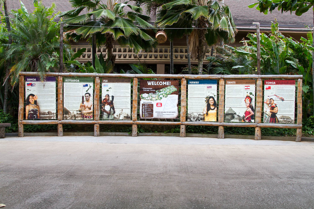 We spent the entire day at the Polynesian cultural center.  Read more here.   Link