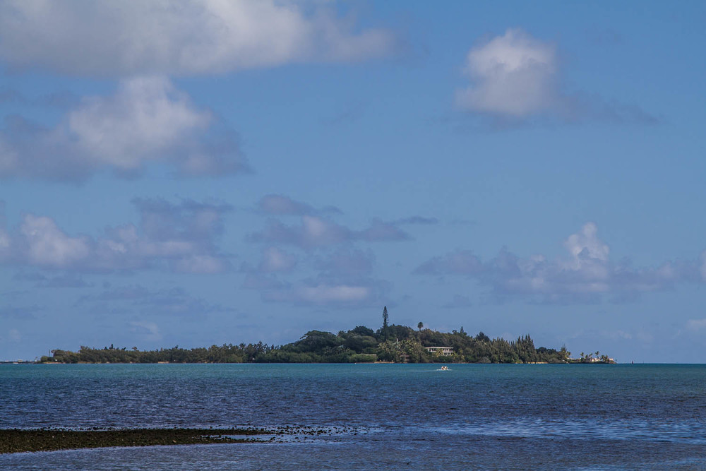 This is the island that was used in the opening shot of Gilligan's Island.