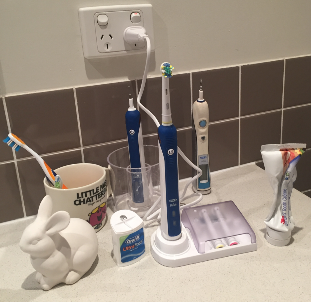 electric toothbrush Oral B good dentist Brisbane