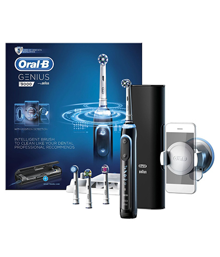 Oral B electric toothbrush advice