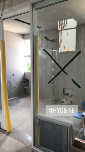 our new hygienist room with a leafy outlook