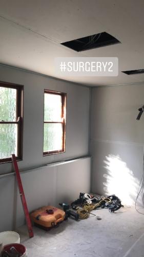 Room 2 under construction