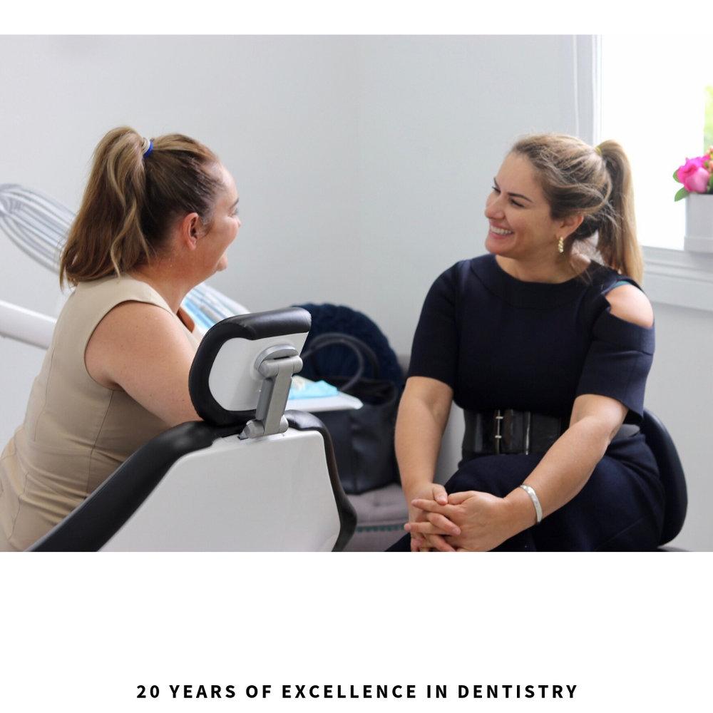Female dentist in Brisbane City