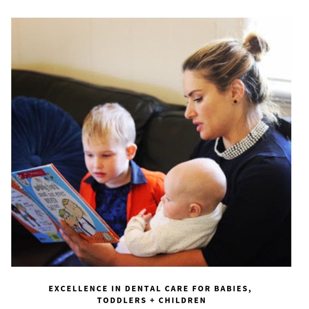 Female dentist for kids in Brisbane