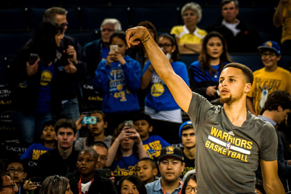 Golden State Warriors Steph Curry