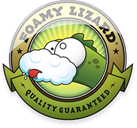 Foamy Lizard ®