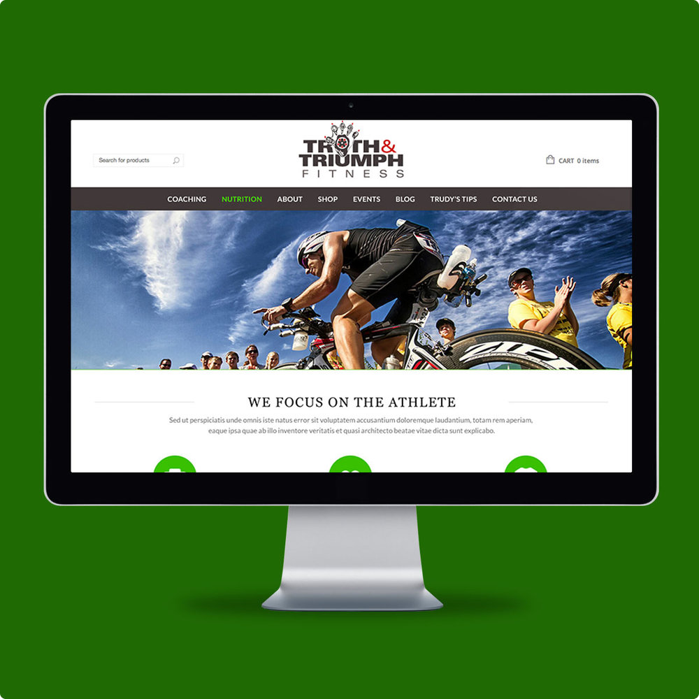 Truth & Triumph Fitness Website
