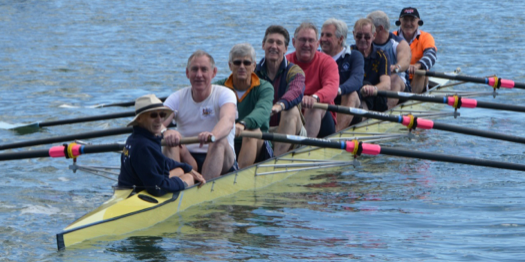 Mal's last row having travelled to Sydney for a reunion of the Munich 8