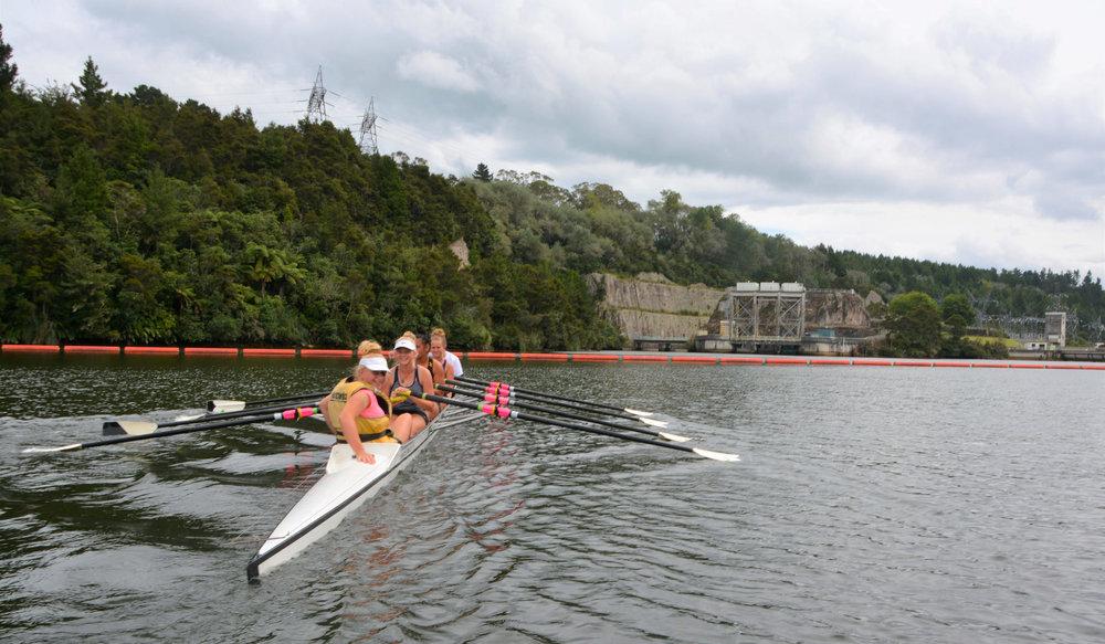 Novice Rowing Camp at Mangakino