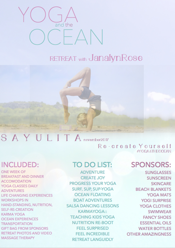 YOGA AND THE OCEAN RETREAT
