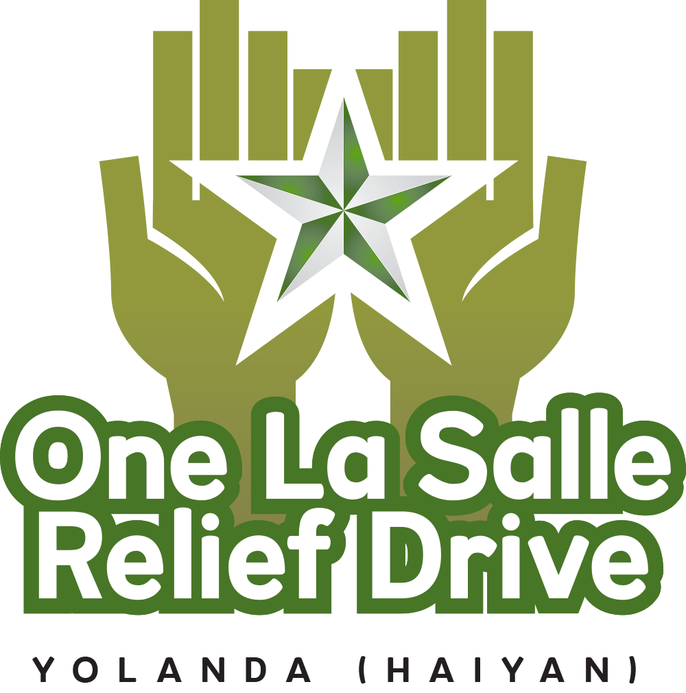 one la salle relief drive yolanda update 5 � de la