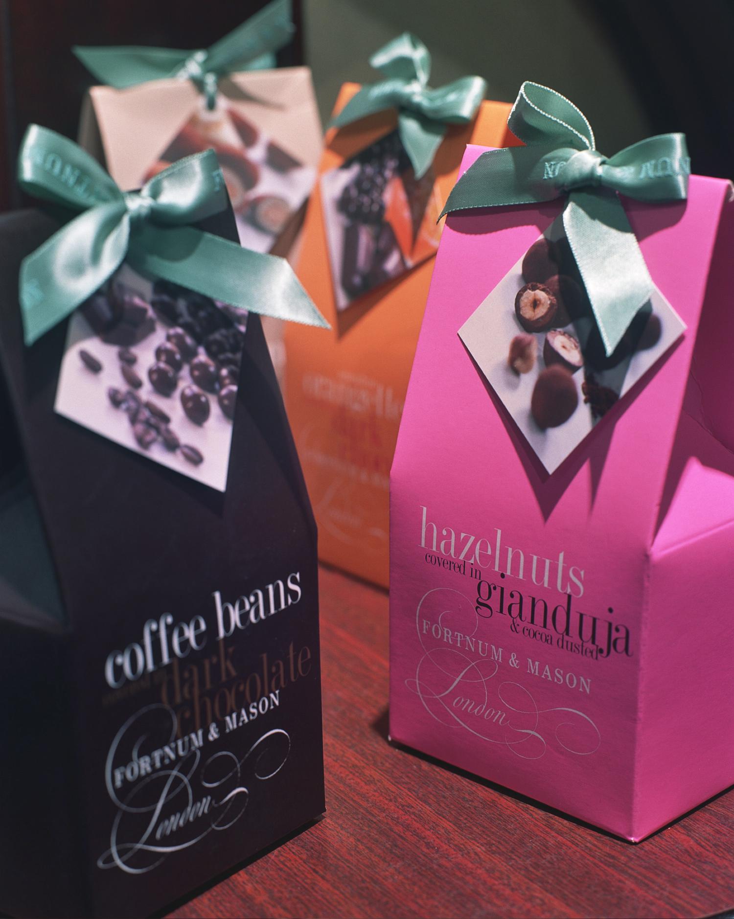 FORTNUM & MASON chocolate ranges — BETTY SOLDI