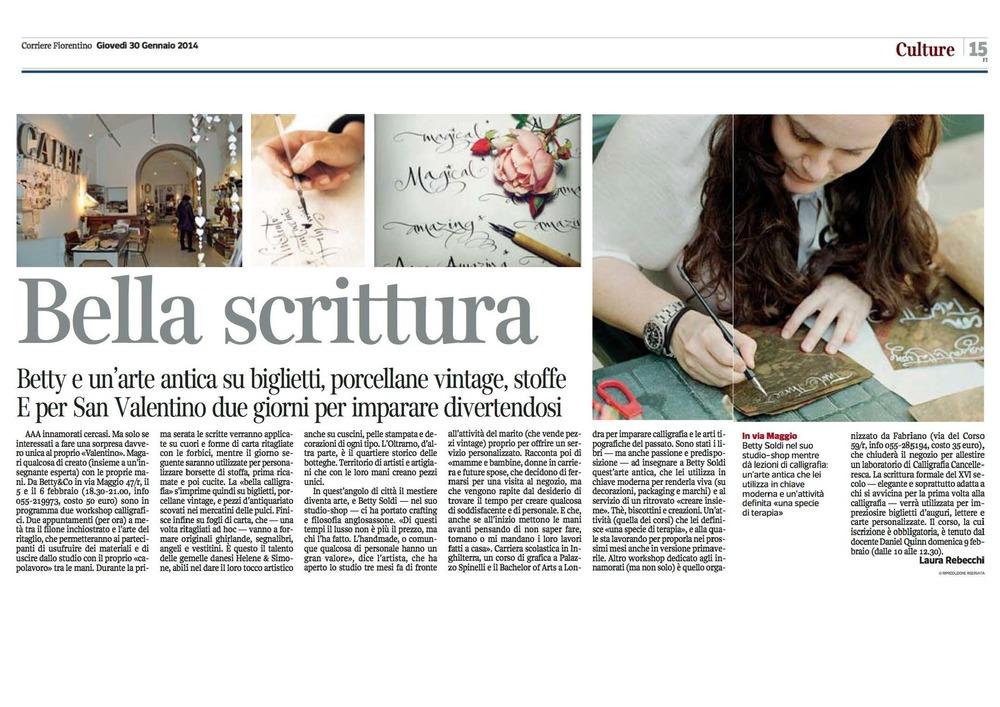 Bella Scrittura_Corriere_fiorentino_2014.01.jpg