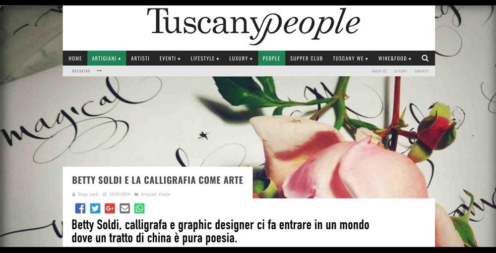 ' TUSCANPEOPLE.IT ' | IT |  [+]