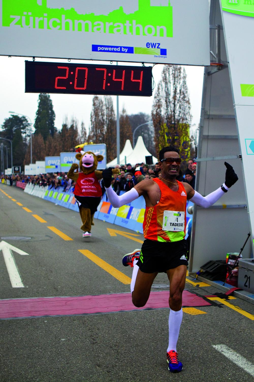Tadesse Abraham, Zürich Marathon 2013